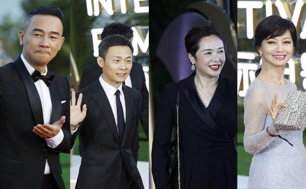 原创组图 | 星光熠熠!第二届海南岛国际电影节开幕式红毯秀